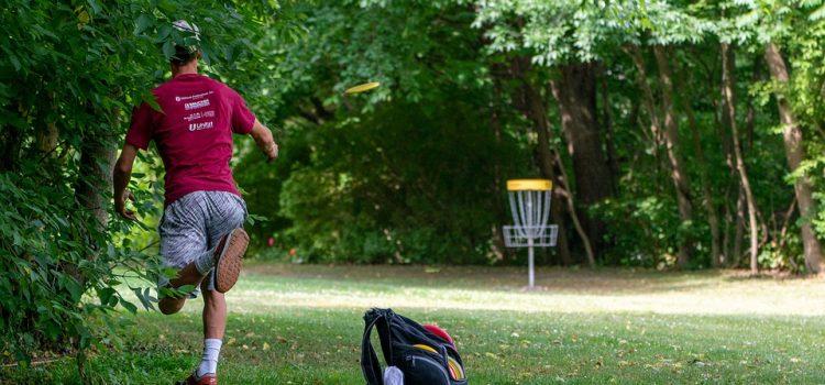 Frisbee Golf eine neue Sportart in Talheim